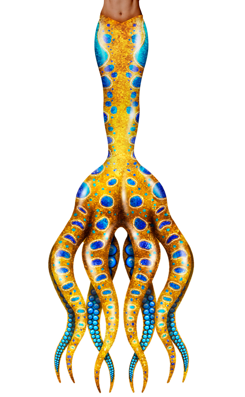 Blue-Ringed Octopus Mermaid Tail