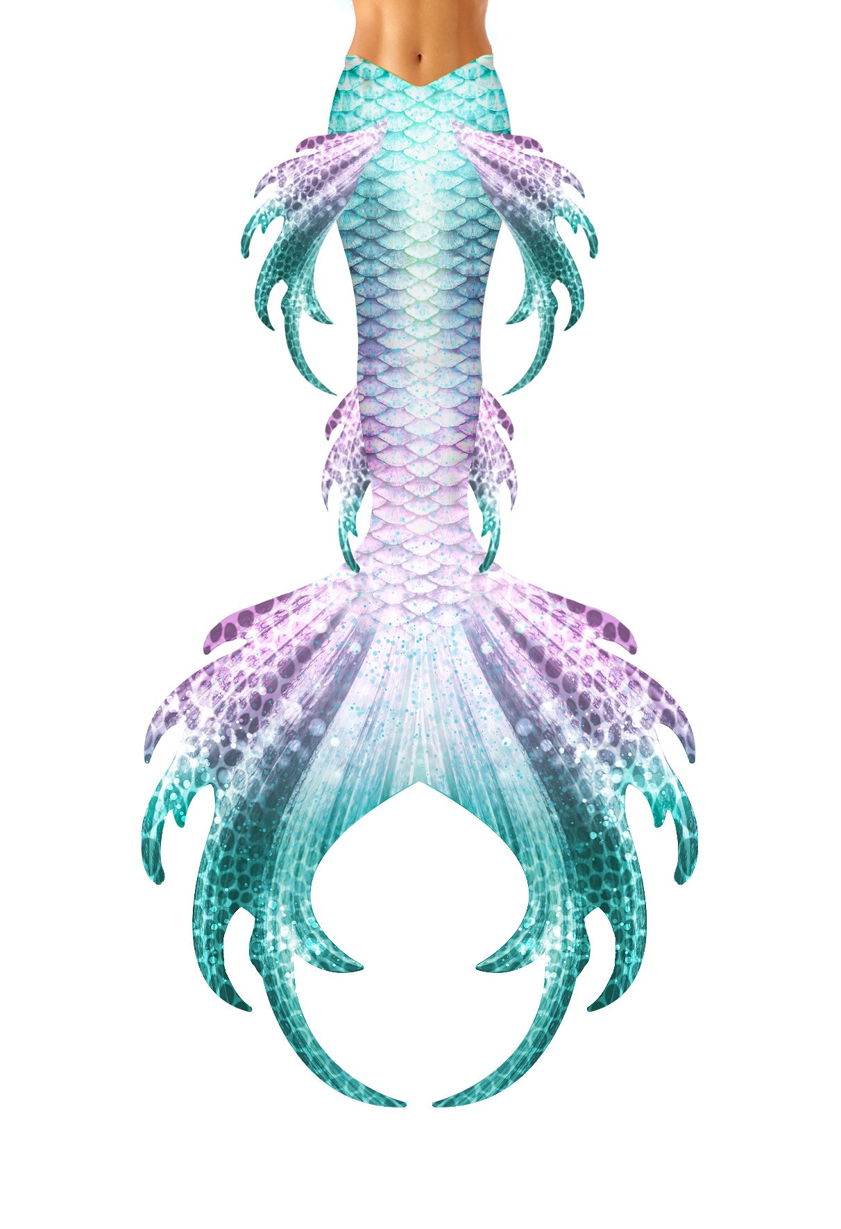 Stardust Mermaid Tail