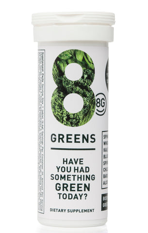 8GREENS EFFERVESCENTS TABLETS
