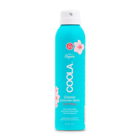 CLASSIC BODY ORGANIC SUNSCREEN SPRAY SPF 50 - GUAVA MANGO