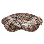 Sleep Mask - Rose Gold Leopard