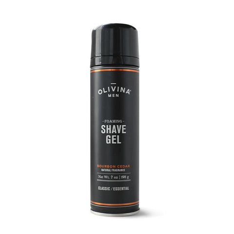 Foaming Shave Gel - Bourbon Cedar