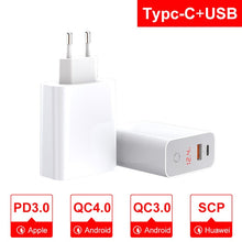 Load image into Gallery viewer, Fast Charger for iPhone  4.0 3.0 USB Smart Power-Off QC - 24sevendeal