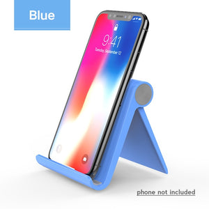 Foldable Cellphone Support Stand for iPhone X Tablet Samsung S10 All-in-one - 24sevendeal
