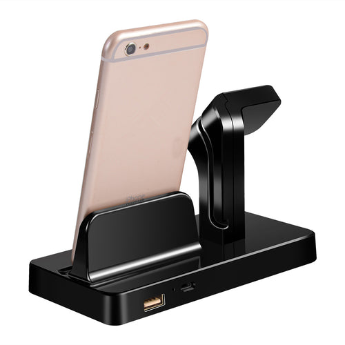 Dock for Apple Watch Stand Holder Charger for IPhone X 8 7 6S Plus 5S - 24sevendeal