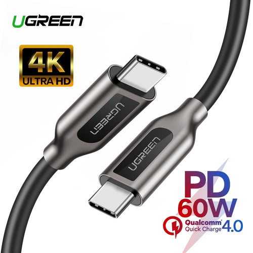 Fast Charger Data Cable for  PD 60 USB C to USB C 3.1 Ugreen Cable for Samsung Galaxy S10 S9 3A Macbook - 24sevendeal