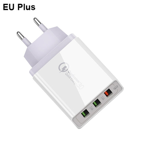 Phone USB Charger For Quick Charge for iPhone 7 8 6 6S 5 5S X Samsung huawei Xiaomi - 24sevendeal