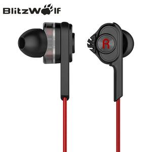 Wired Earphone With Mic With Microphone Universal For Samsung For iPhone 6s Smartphones by BlitzWolf - 24sevendeal