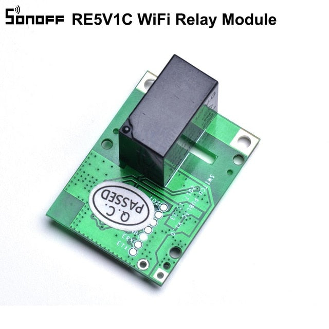 SONOFF RE5V1C Module Switch Dry Selflock Working Modes APP/Voice/LAN Control Smart Home