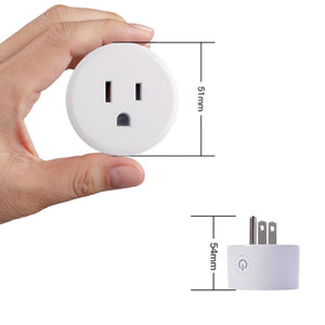 Smart Home Plug US/EU Plug Outlet Socket Work with APP Alexa/Google Assistant  No Hub Required