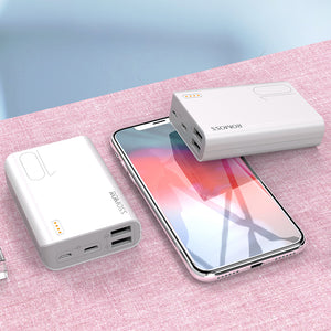Romoss Sense4 Mini Power Bank 10000mAh Fast Charge Portable External Battery Charger For iPhone