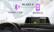 "Load image into Gallery viewer, New Car DVR Dashcam 4G 4 Channel ADAS Android 10"" Center console mirror GPS WiFi by  WHEXUNE"