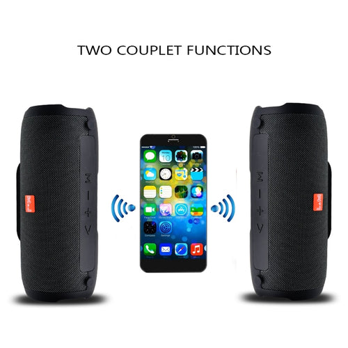 Wireless Bluetooth Speaker Stereo big power 10W system TF FM Radio Music Subwoofer by M&J - 24sevendeal