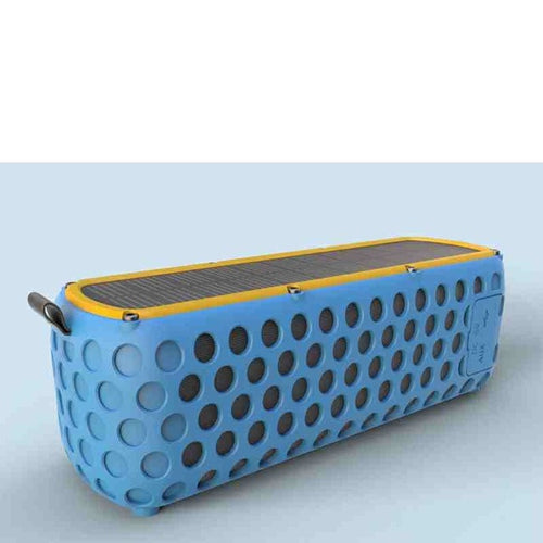 IPX5 Waterproof Solar Bluetooth Speaker with LED light and Built-in Mic - 24sevendeal