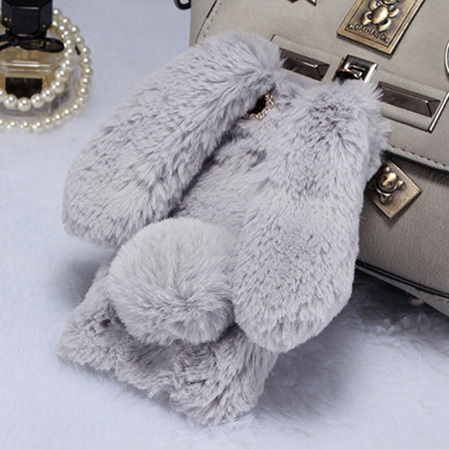 NEW Rabbit Fur Covers for Cell Phones - 24sevendeal