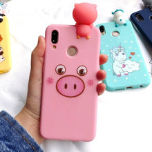 Load image into Gallery viewer, Xiaomi Redmi Case Cover Kawaii 3D Bear Unicorn on 5 Plus Note Capa