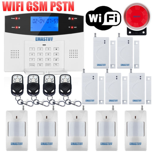 Wired Wireless Home Security Alarm System