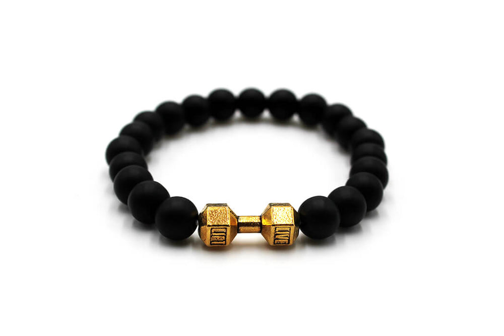 Aromatherapy Oil Defuser Bracelet | Dumbbell - Natural Choice Company