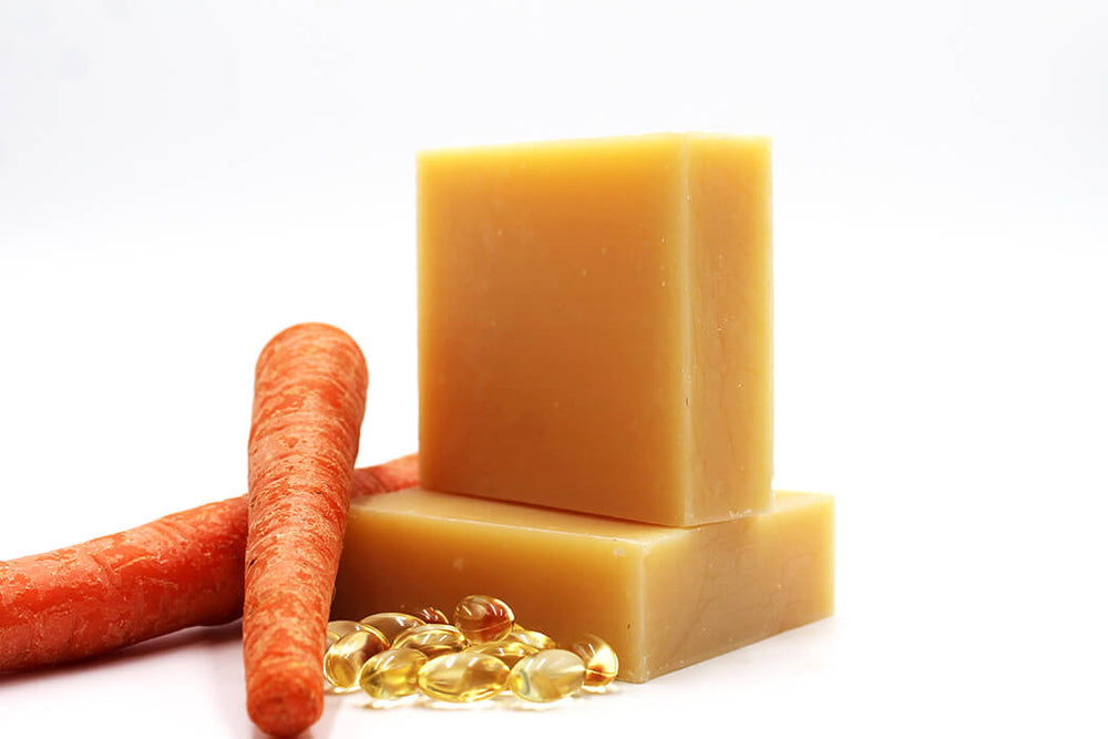 Carrot & Vitamin E Aromatherapy Handmade Soap - Natural Choice Company
