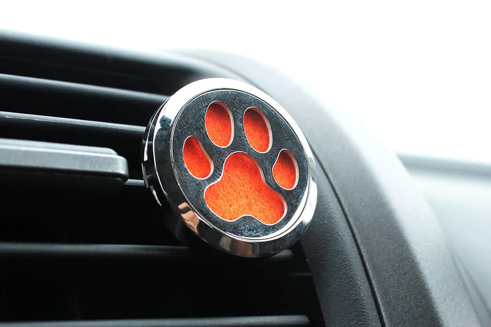Essential Oil Car Diffuser Dog Paw - Natural Choice Company