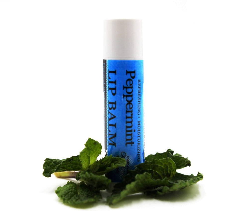 Peppermint Aromatherapy Lip Balm - Natural Choice Company