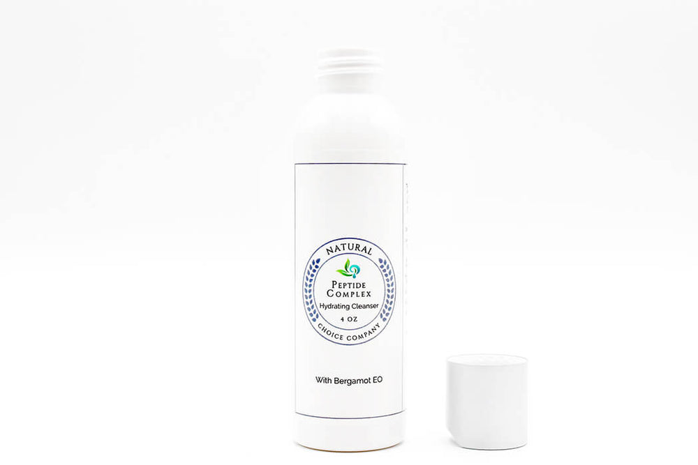 Peptide Complex Hydrating Cleanser with Bergamot EO - 4oz - Natural Choice Company