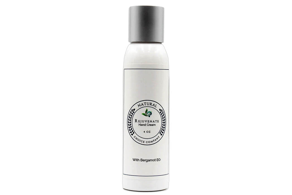 Rejuvenate Hand Cream with Bergamot - 4oz - Natural Choice Company
