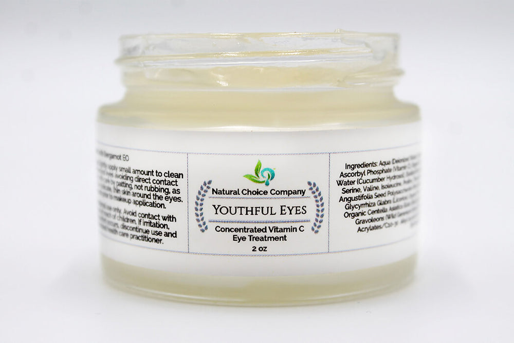 Youthful Eyes, Concentrated Vitamin C with Bergamot - 2oz - Natural Choice Company