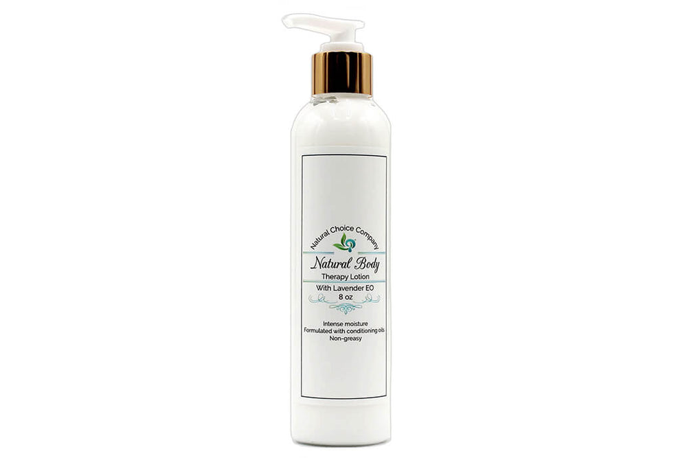Natural Body Therapy Lotion with Lavender - 8oz - Natural Choice Company