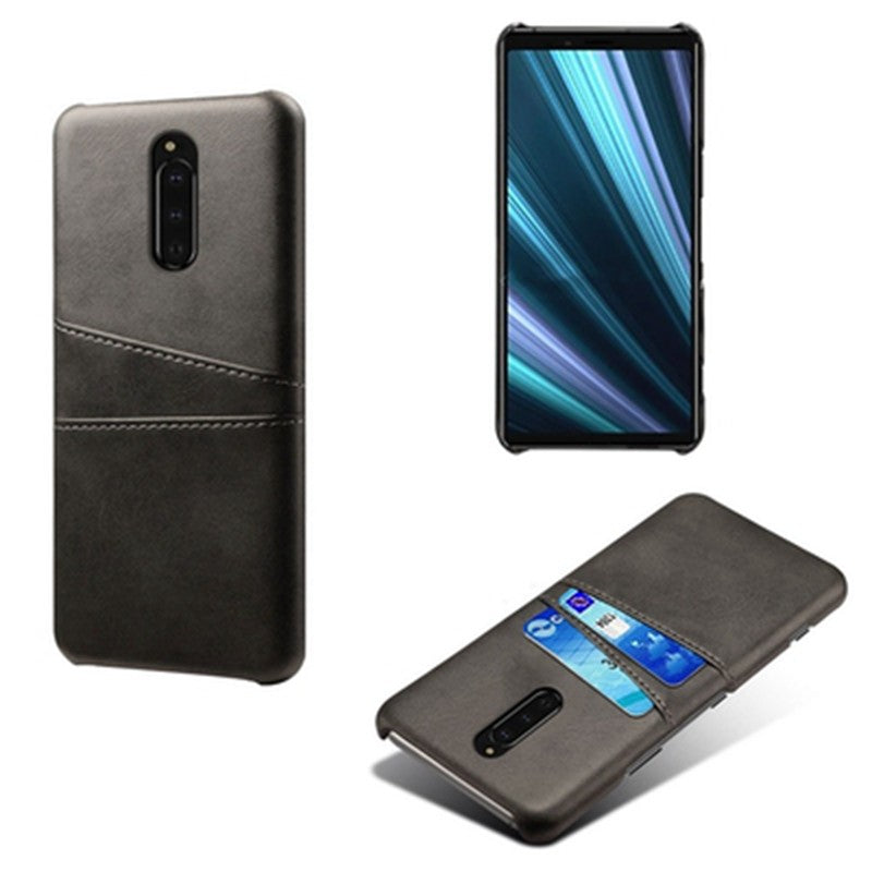 Leather iPhone12 / 12 pro / 12 pro max / 11 case Business style compatible with all models Xperia 1 II / 10 II / 8/5/1 case Jacket type