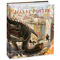 Harry Potter and the Goblet of Fire- Illustrated Hardback Edition