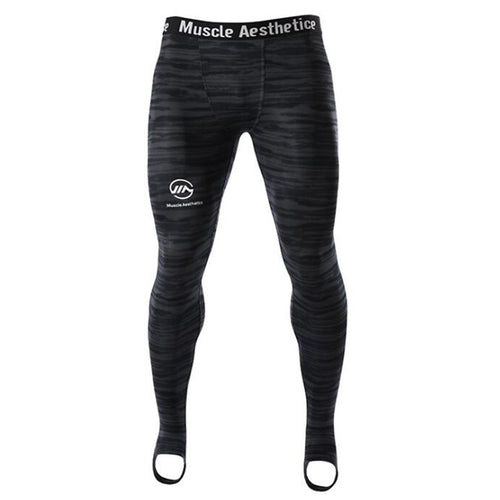 AABSPORT collants de compression pour hommes.