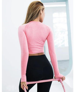 AABSPORT haut collant de sport sans coutures