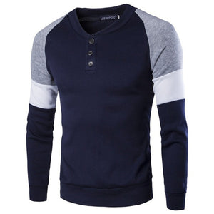 AABSPORT pull décontracter à boutons