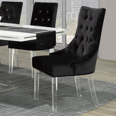 Cavalli Accent/Dining Chair-Black