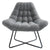 Shelby Accent Chair-Grey Blend