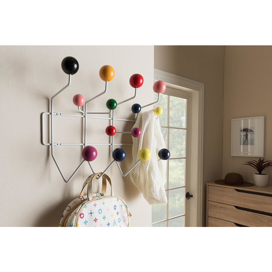 Penny Mid-Century Modern Multi-Colored Coat Hanger