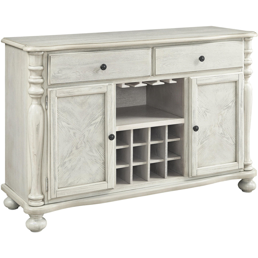 Pearse Wood Wine Storage Buffet, Dark White