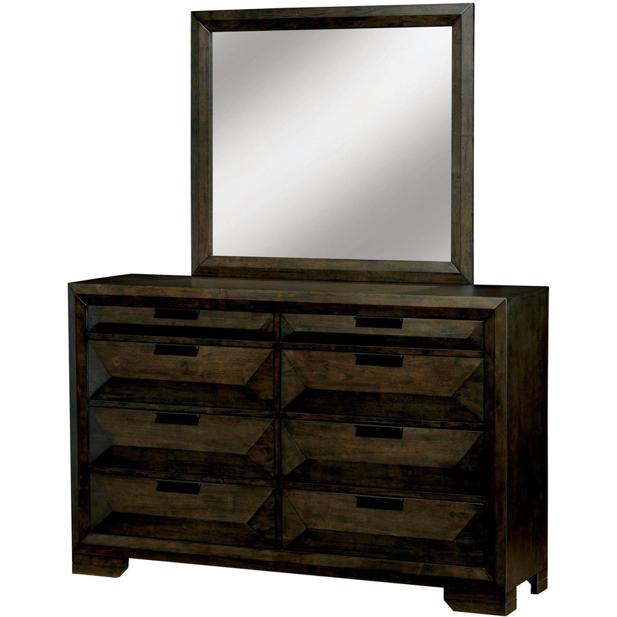 Torres Transitional Style Espresso, 8-Drawer Drawer
