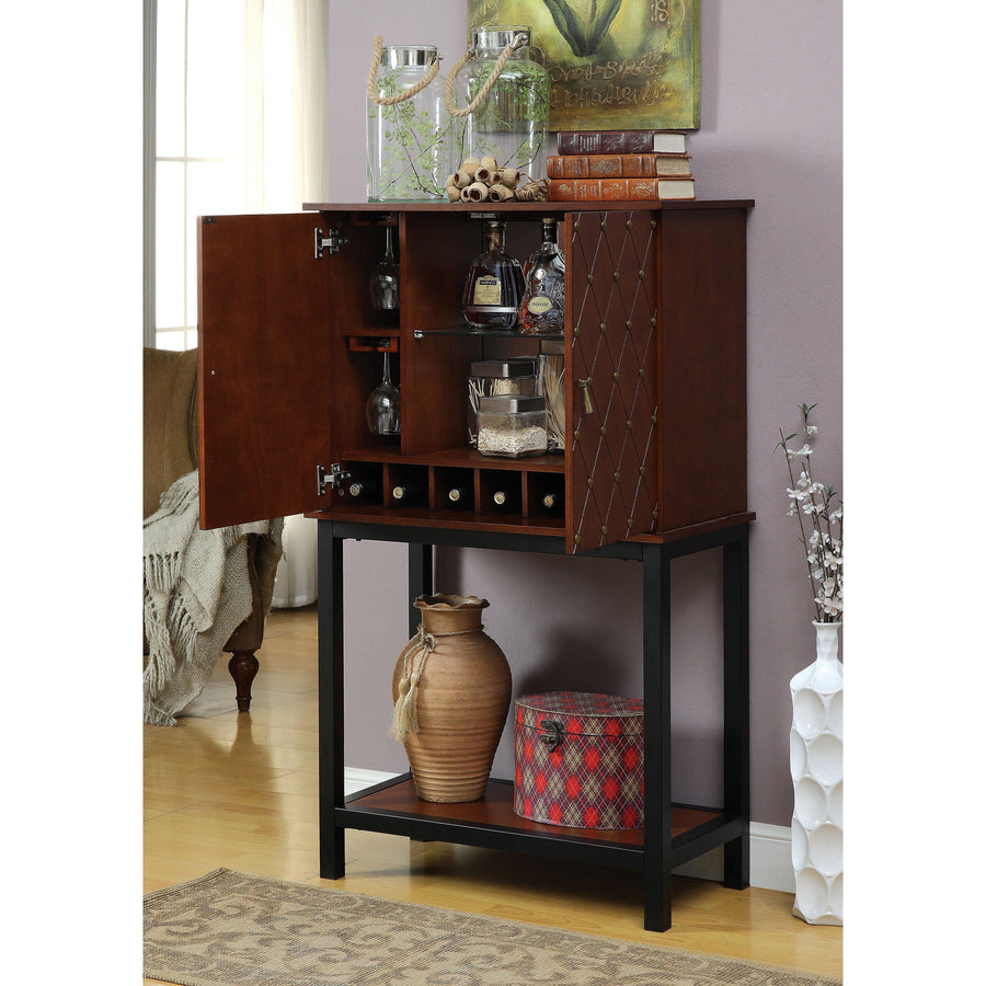 Copperfield Transitional Wine cabinet