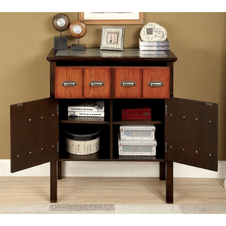 Amiens Transitional Accent Storage Hallway Cabinet