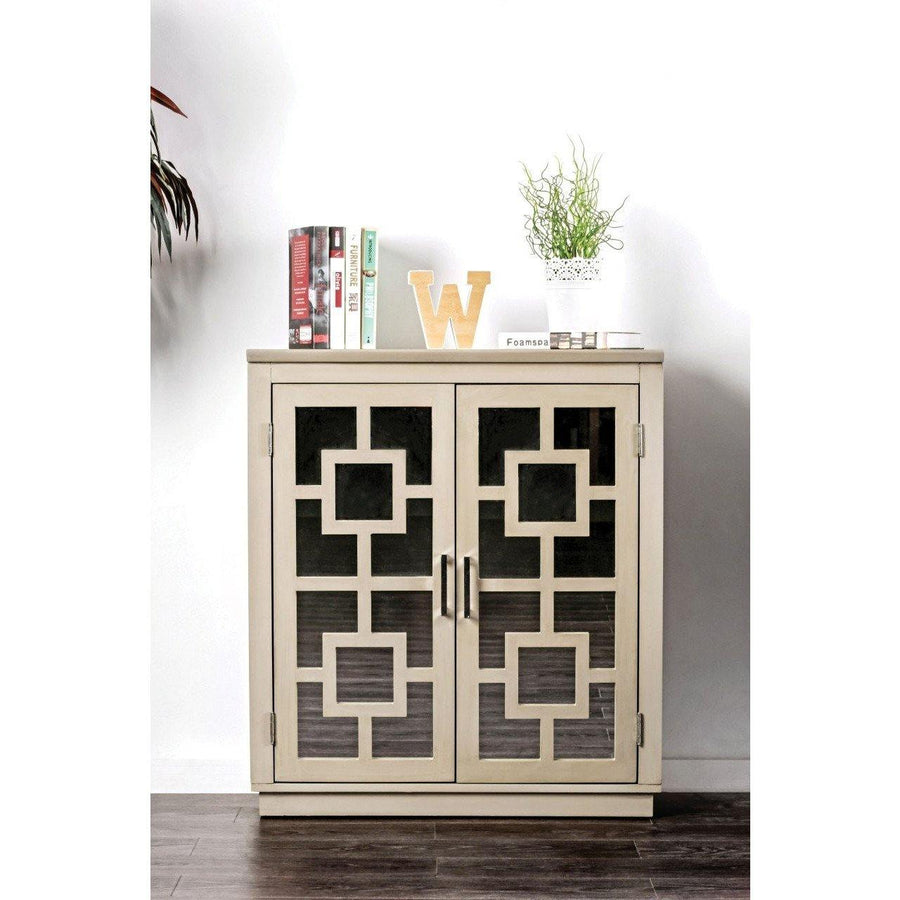 Aesha Contemporary Double-door Hallway Cabinet