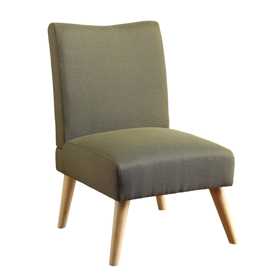 Limoges Mid-century Modern Accent Chair in Purple
