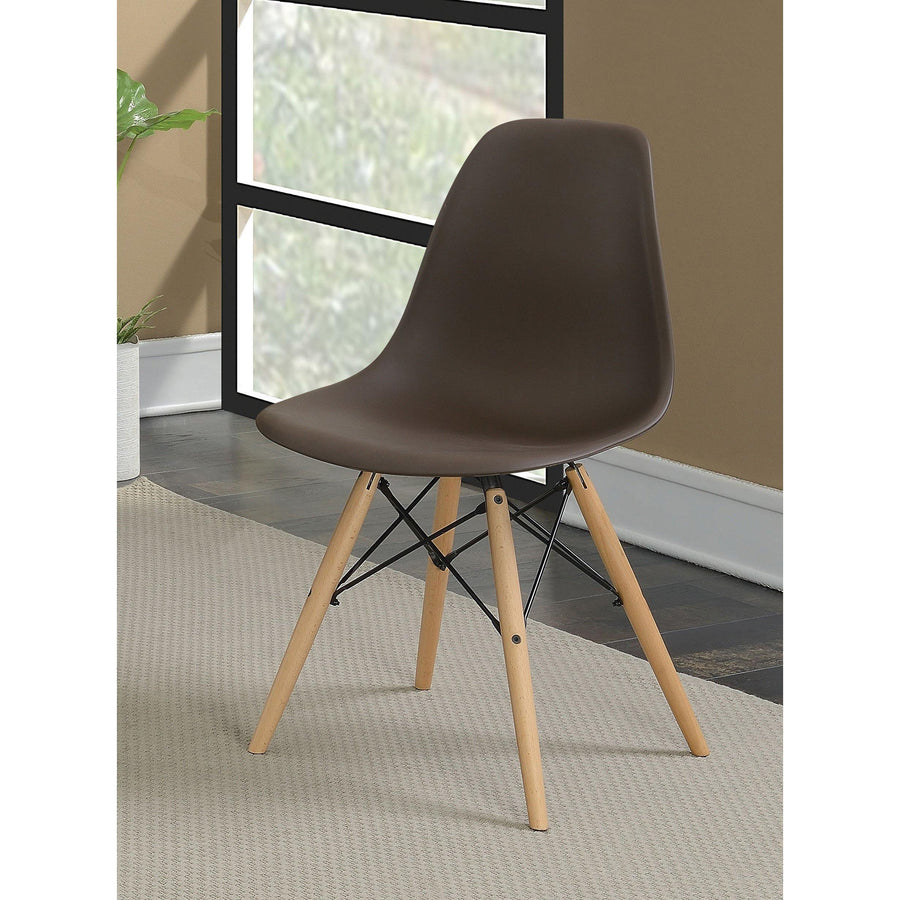 Carcassonne Mid-century Modern Accent Chair (Set of Two)