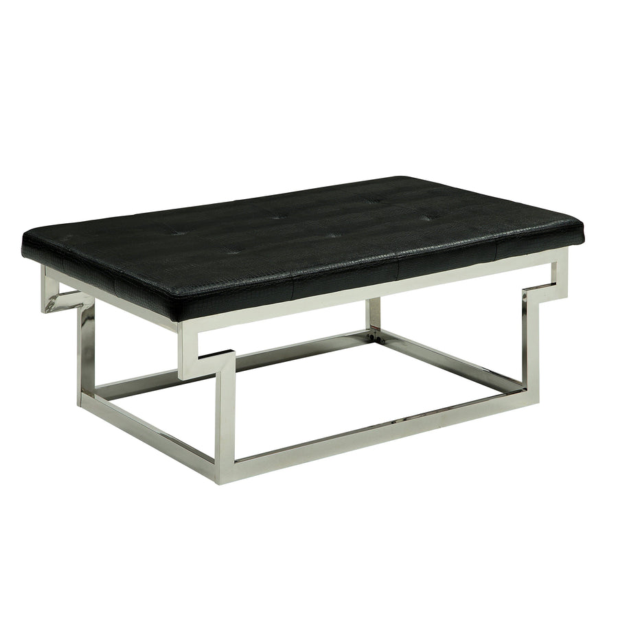 Perth Contemporary Large Accent Bench In Black