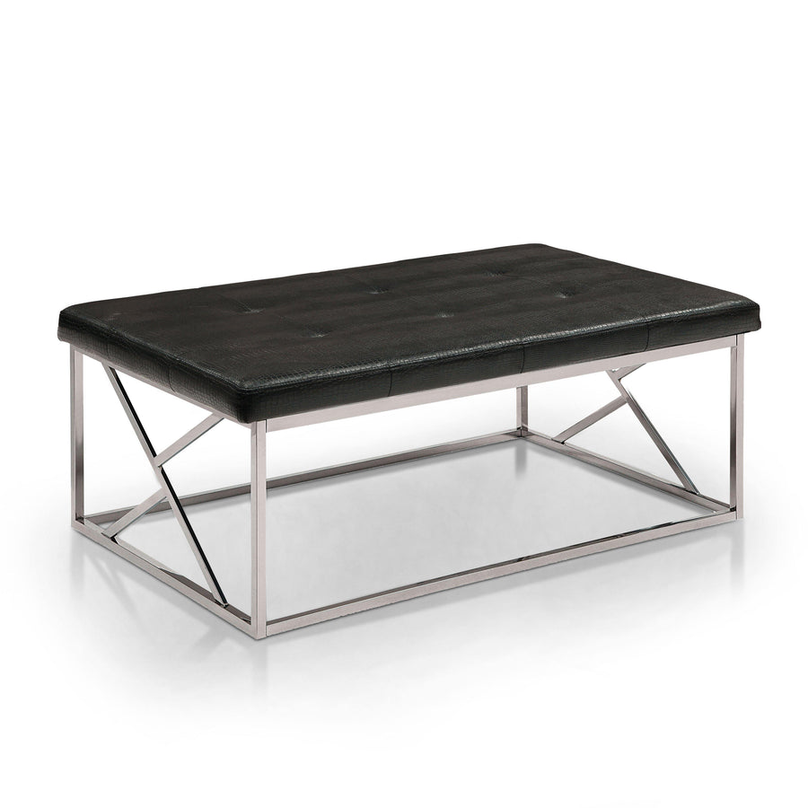 Metz Modern Leatherette Accent Bench
