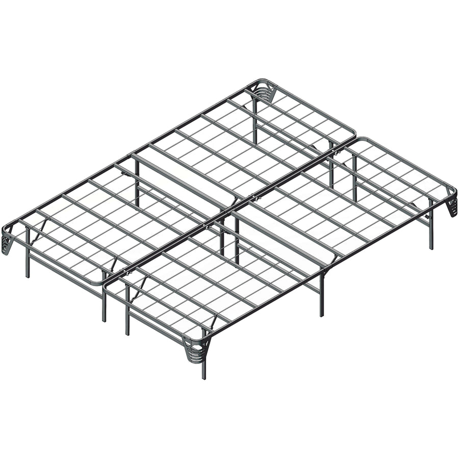 Pau Heavy Duty Metal Platform Queen Bed