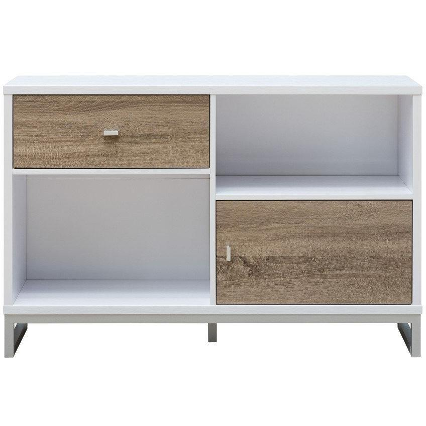 Two-tone Multi-purpose Storage Cabinet
