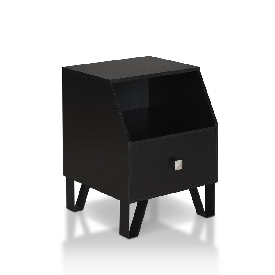 Reuben Contemporary Angled End Table