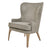 Bjorn Fabric Accent Chair